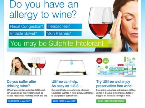 ub free wine