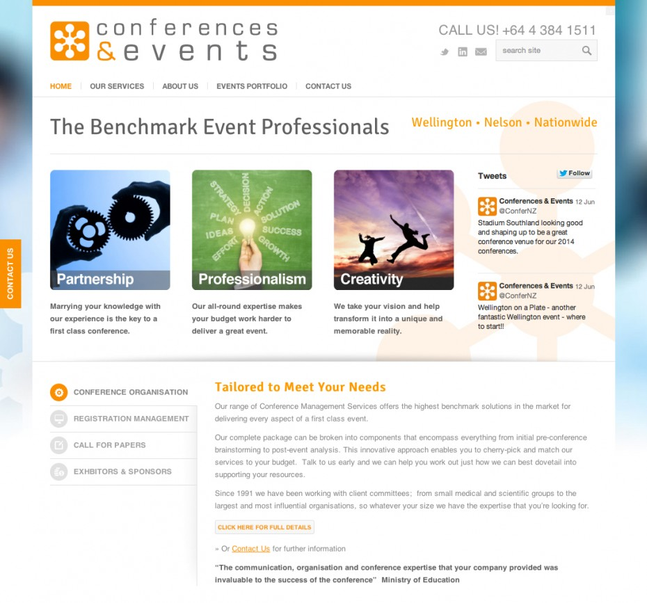 conferences and events